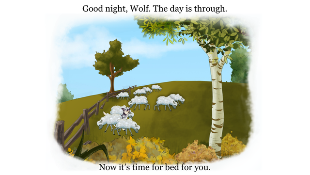 Bedtime Story: an animated Aesop Children's Book for helping children to sleep screenshot 3