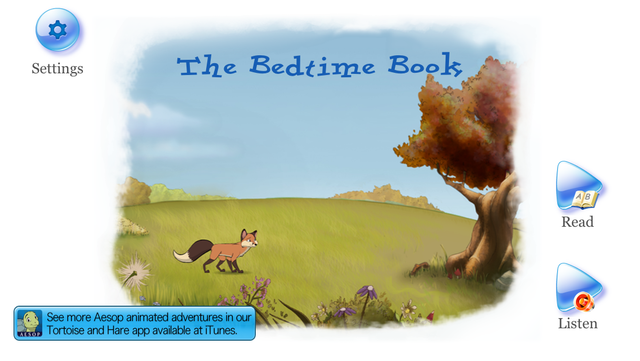 Bedtime Story: an animated Aesop Children's Book for helping children to sleep screenshot 5
