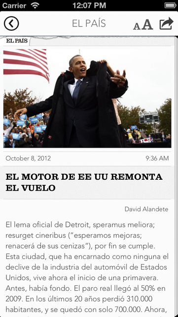 Titulares screenshot 3