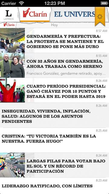 Titulares screenshot 5
