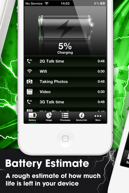 Device Monitor with Battery Time Estimates screenshot 4