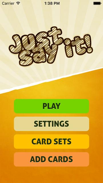 Just Say It! - Charades party game screenshot 1