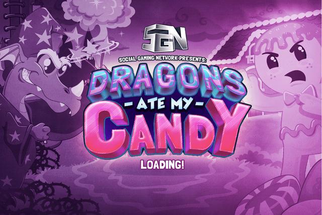 Dragons Ate My Candy screenshot 2