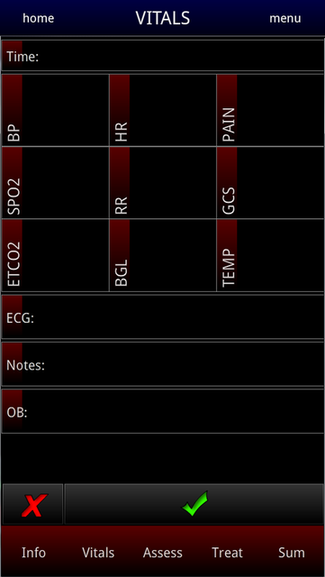 EMS Notes screenshot 2