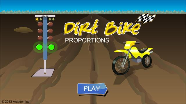 Dirt Bike Proportions screenshot 1