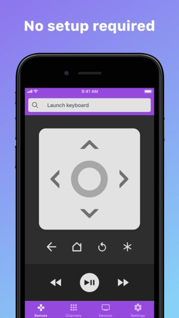 Roku TV Remote Control- RoByte screenshot 1