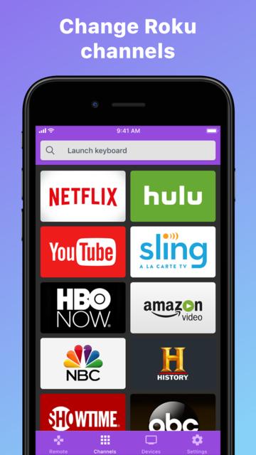Roku TV Remote Control- RoByte screenshot 2