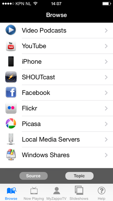 Samsung TV Media Player screenshot 3