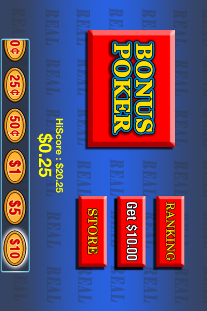 Bonus Poker free screenshot 2