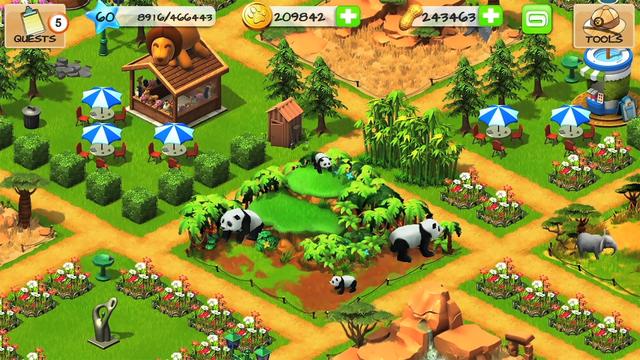 Wonder Zoo - Animal Rescue! screenshot 10