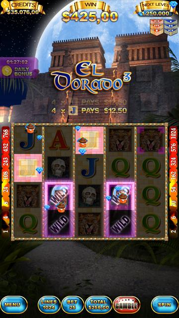 El Dorado 3 Slot Machine screenshot 1