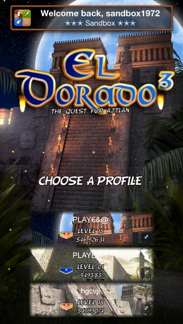 El Dorado 3 Slot Machine screenshot 2