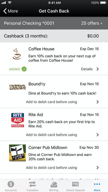 OneUnited Bank Mobile Banking screenshot 7