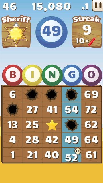 Bingo Shootout screenshot 2