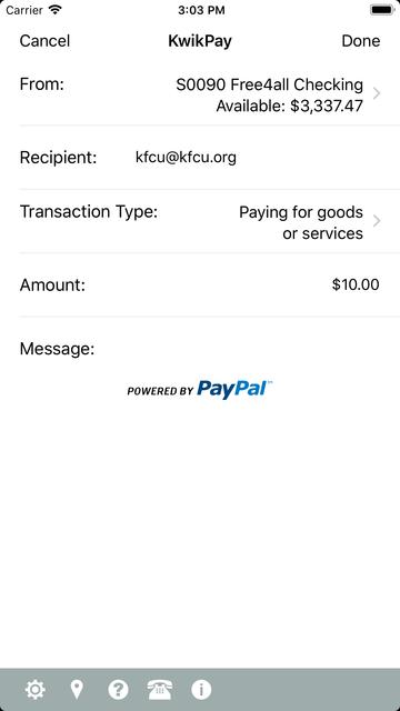 Keesler Federal Mobile Banking screenshot 6