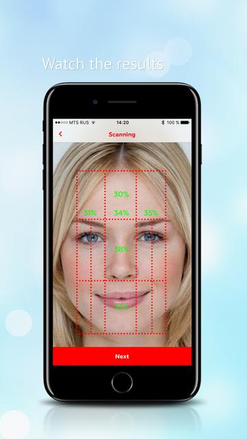 Perfect face meter screenshot 6