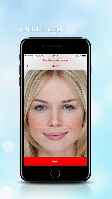 Perfect face meter screenshot 9