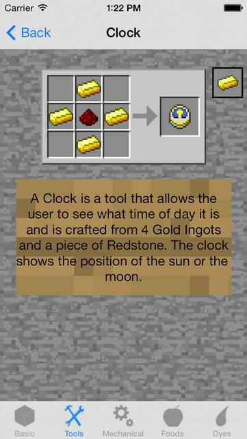 Crafting Recipes Pro screenshot 2
