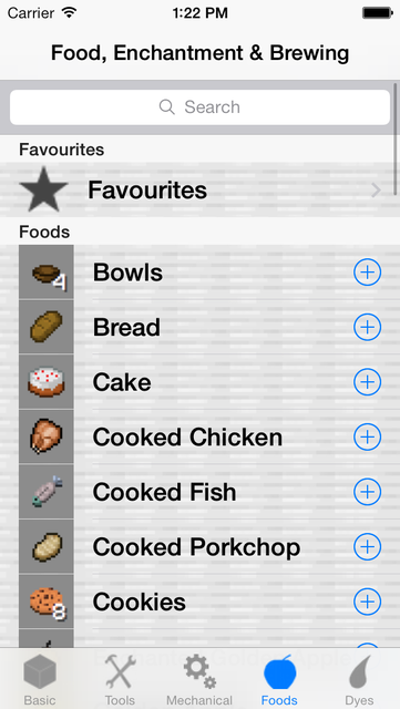Crafting Recipes Pro screenshot 4