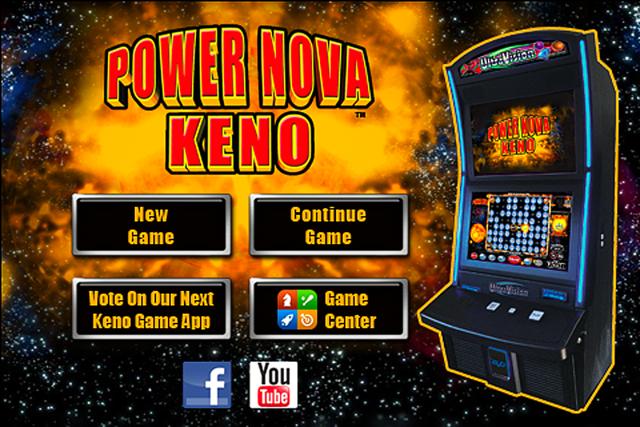 Power Nova Keno screenshot 1