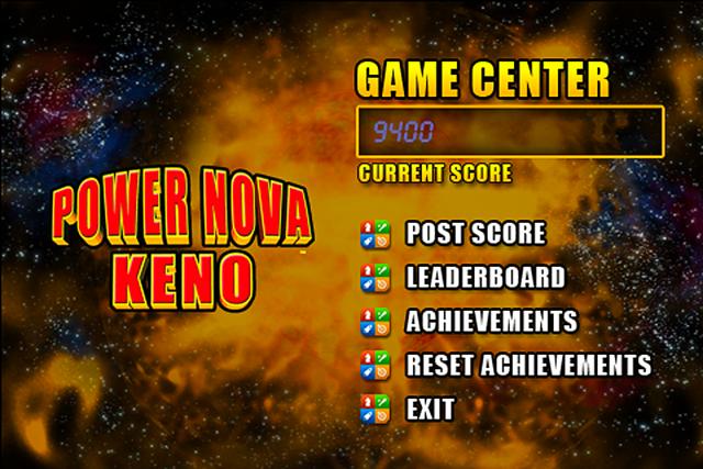 Power Nova Keno screenshot 3
