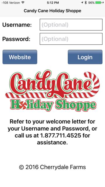 Candy Cane Holiday Shoppe screenshot 1