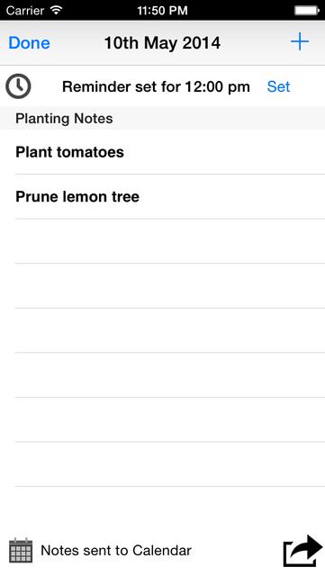 Lunar Planting Guide & Planner screenshot 3