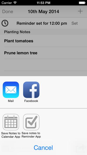 Lunar Planting Guide & Planner screenshot 4