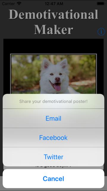 Demotivational Maker screenshot 8