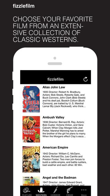 fizzlefilm - watch classic movies & tv shows screenshot 2