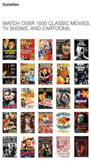 fizzlefilm - watch classic movies & tv shows screenshot 1
