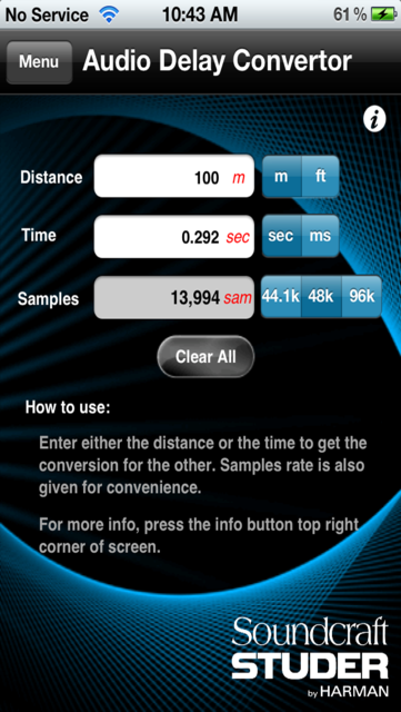 Audio Calc Toolkit screenshot 7