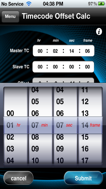 Audio Calc Toolkit screenshot 5