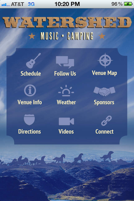 Watershed  Music Festival screenshot 1