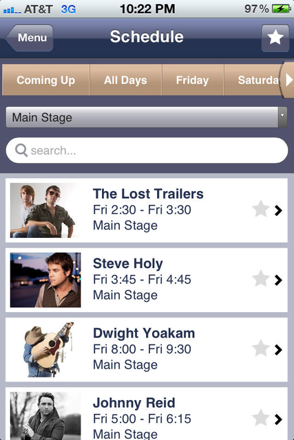Watershed  Music Festival screenshot 3