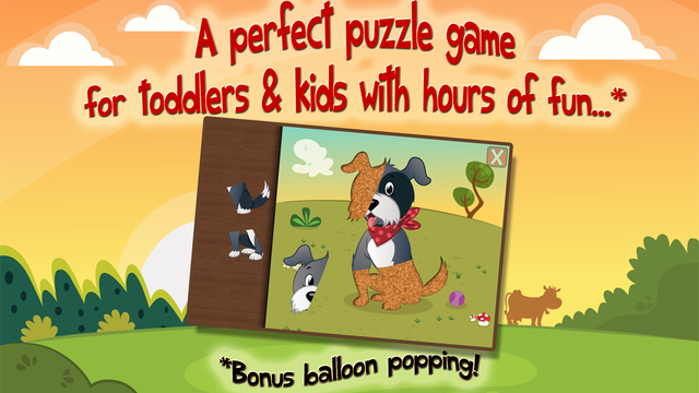 Animal Puzzle Toddlers screenshot 1