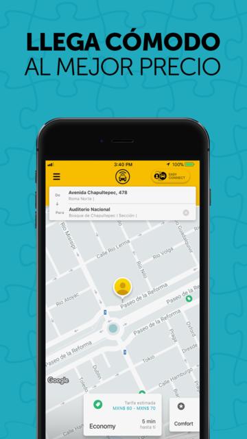 Easy Yaxi - Transportation App screenshot 2
