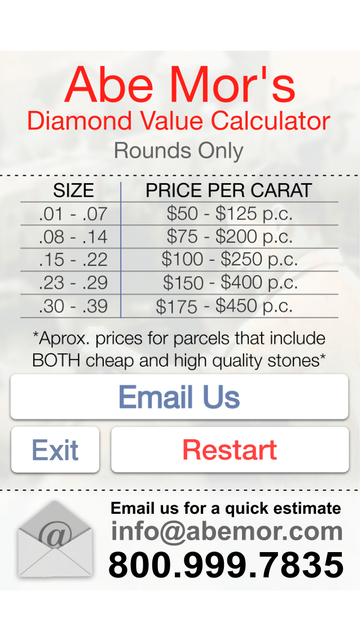 AM Diamond Buying Guide screenshot 3