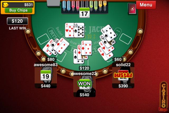 Blackjack Live : Casino All-In screenshot 3