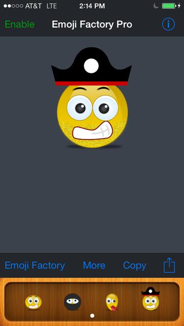 Emoji Factory Pro - Emoticon Icon Maker screenshot 1