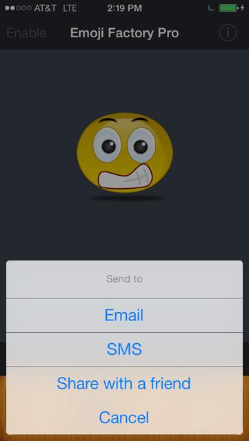 Emoji Factory Pro - Emoticon Icon Maker screenshot 5