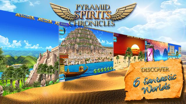 Slots - Pyramid Spirits 3 screenshot 1