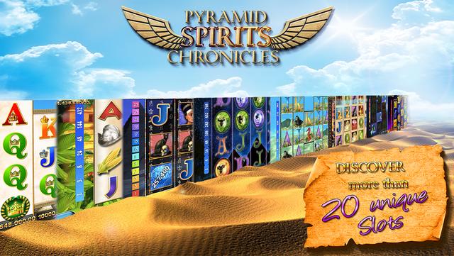 Slots - Pyramid Spirits 3 screenshot 2