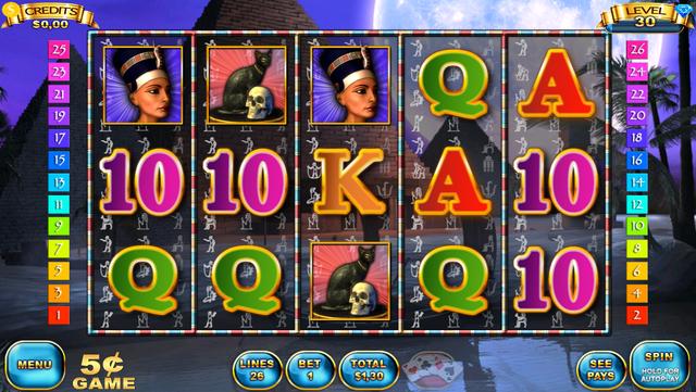 Slots - Pyramid Spirits 3 screenshot 5