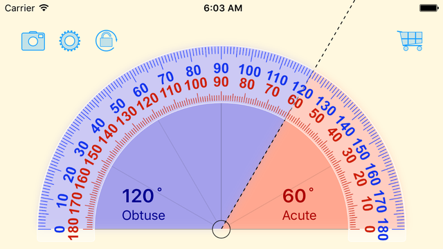 Free Protractor screenshot 1