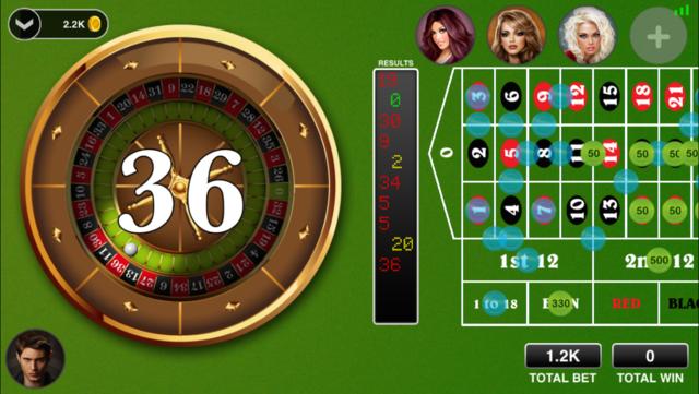 Roulette Live : Casino All-In screenshot 1