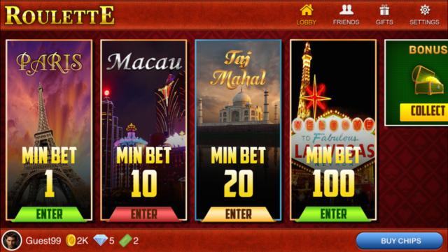 Roulette Live : Casino All-In screenshot 2