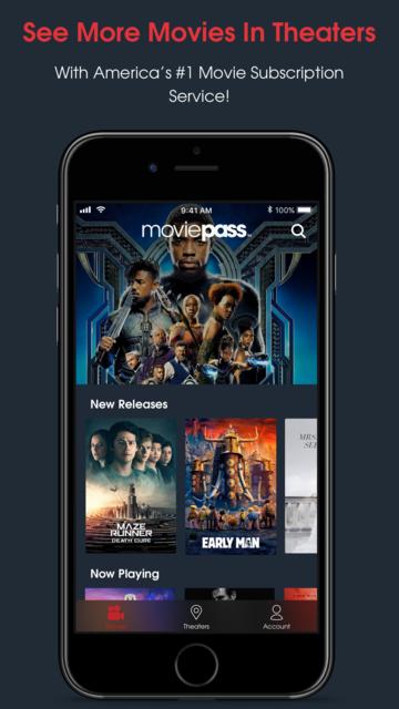 MoviePass screenshot 1
