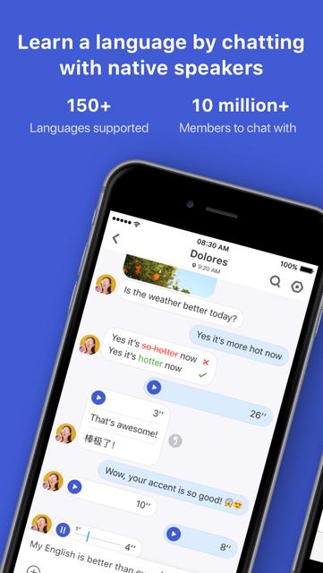 HelloTalk Learn Language Fast screenshot 1