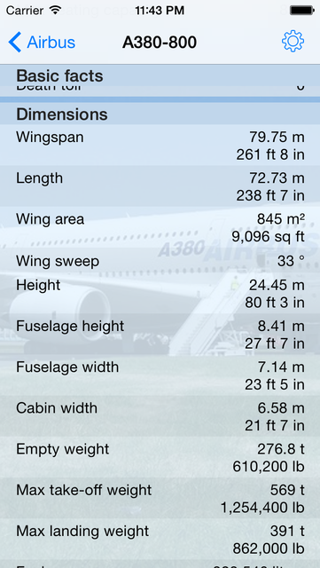 Encyclopedia of Airliners Pro screenshot 7